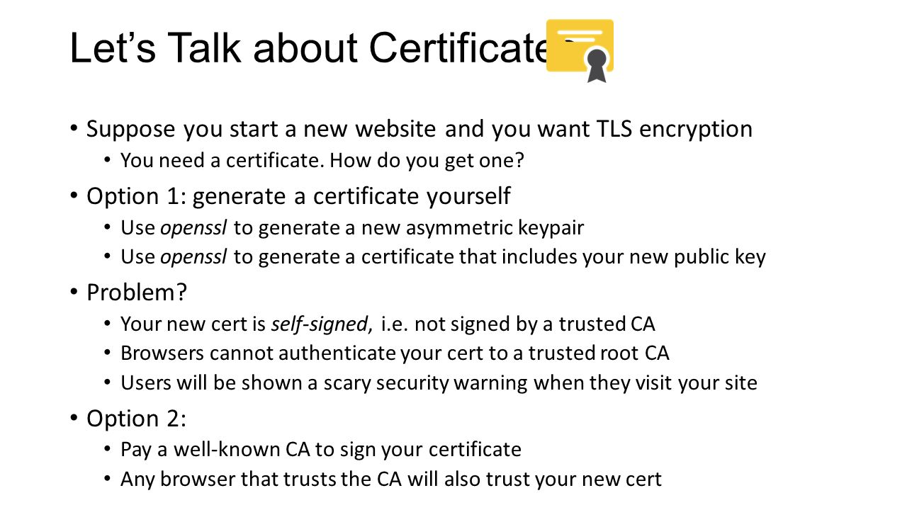 Cs 3700 networks and distributed systems ppt download lets talk about certificates 1betcityfo Choice Image