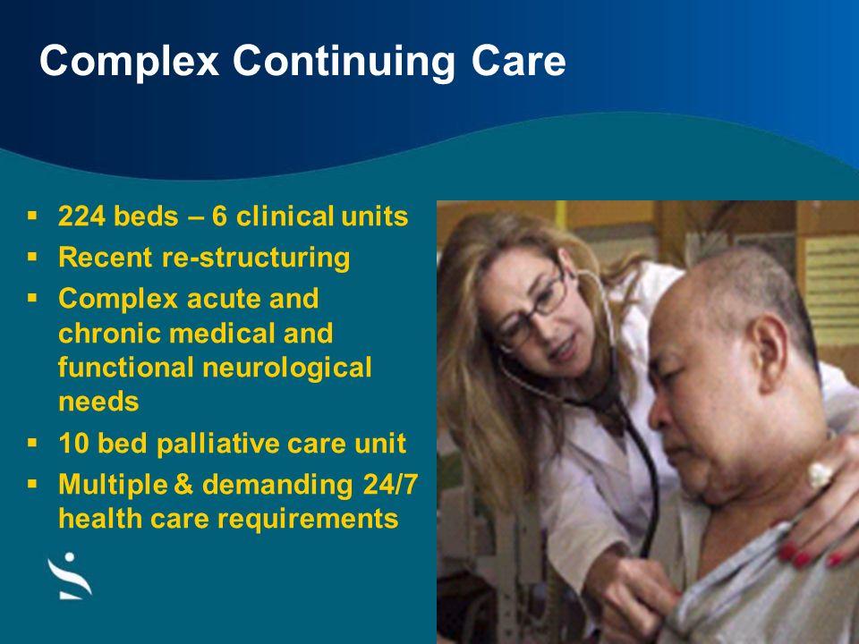 Complex Continuing Care