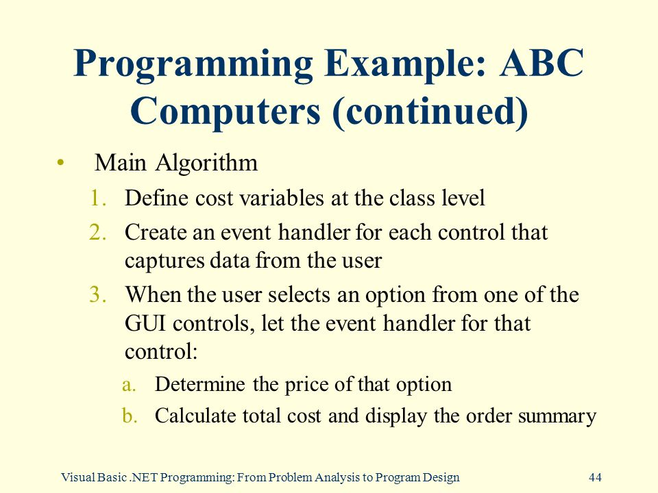 an analysis of abc programs Package 'abcanalysis' march 13, 2017 type package title computed abc analysis version 121 date 2017-03-13 author michael thrun, jorn lotsch, alfred ultsch.