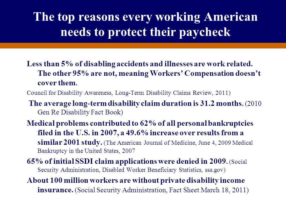 The top reasons every working American needs to protect their paycheck