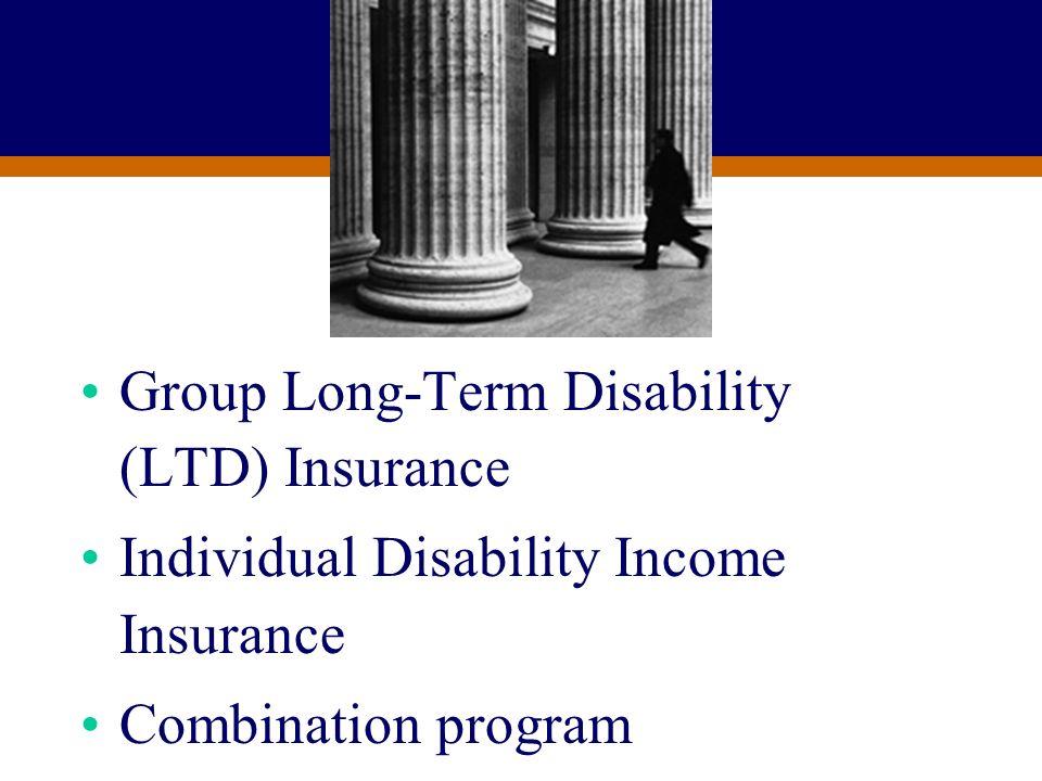 Group Long-Term Disability (LTD) Insurance