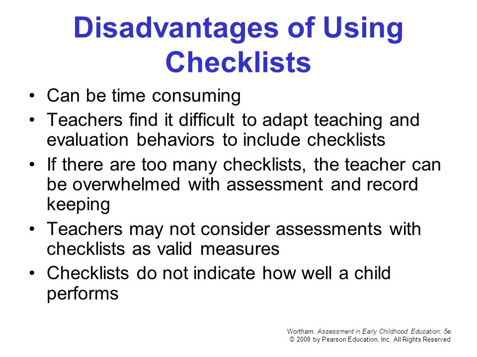 early childhood assessments how we use Ceds focus on standard definitions,  the use of these assessments must conform with the recommendations of the  early childhood educator: we recommend the.