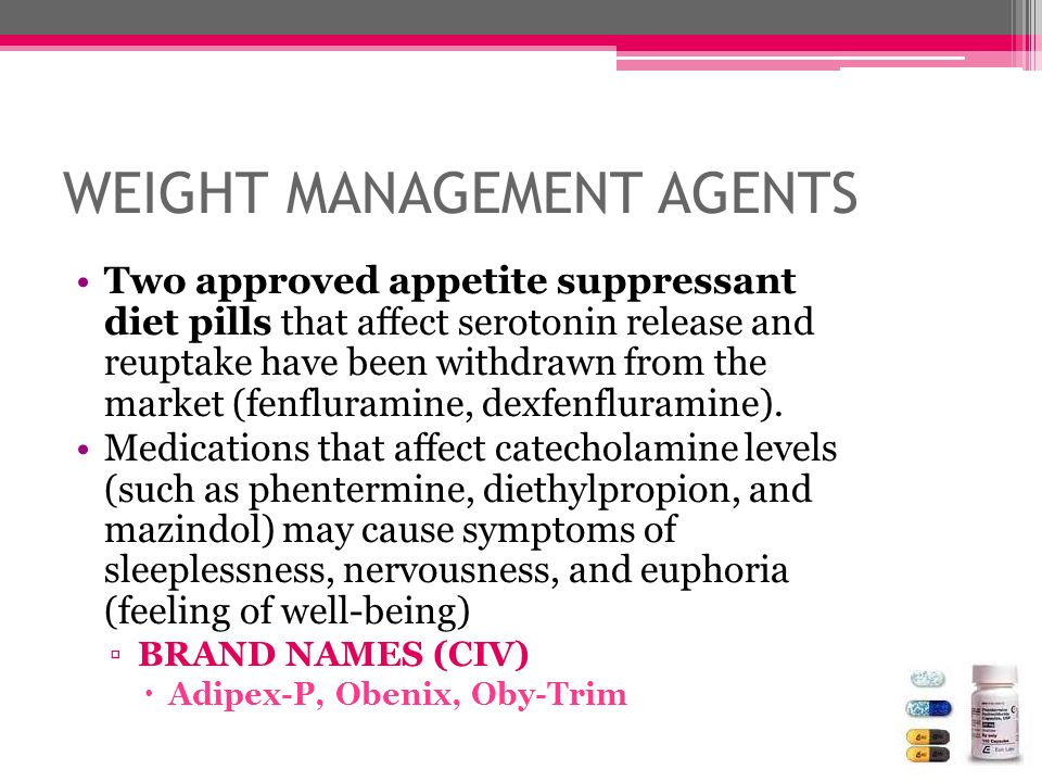 WEIGHT MANAGEMENT AGENTS