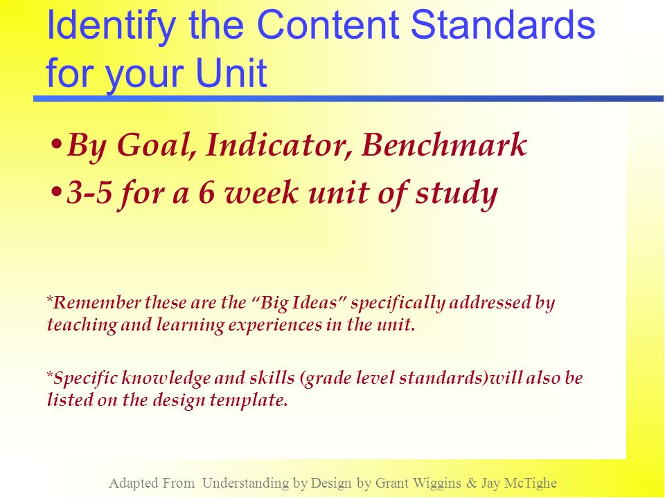 Understanding By Design - Ppt Video Online Download