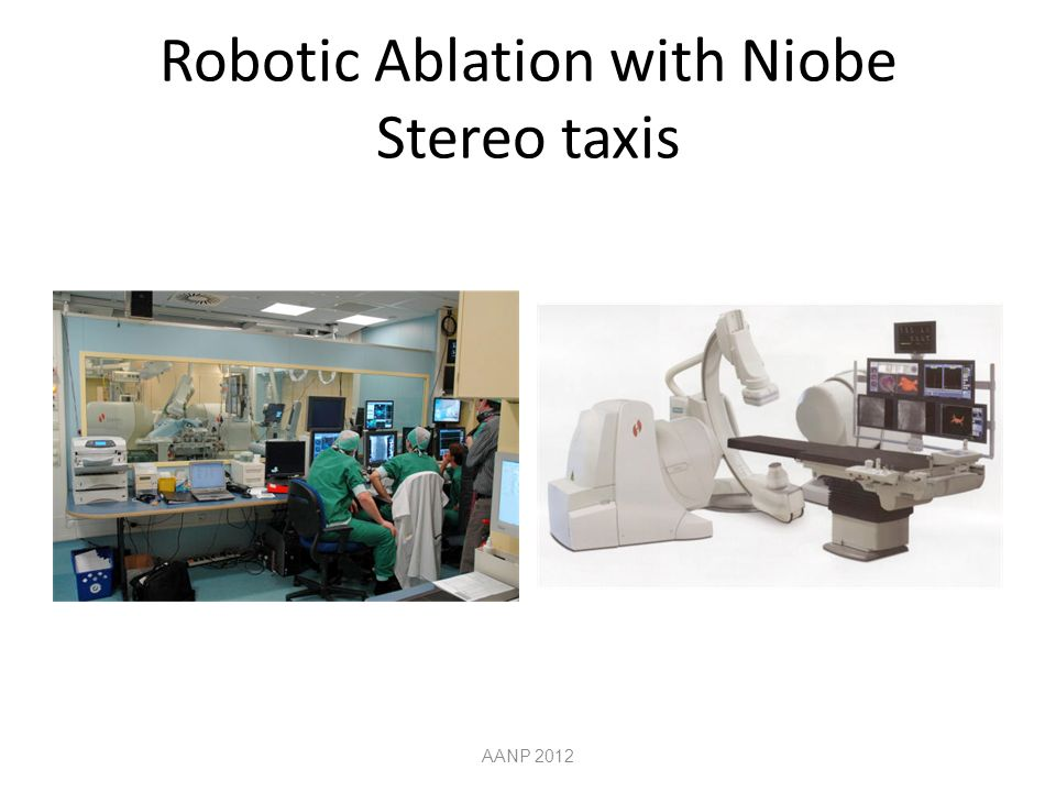 Robotic Ablation with Niobe Stereo taxis