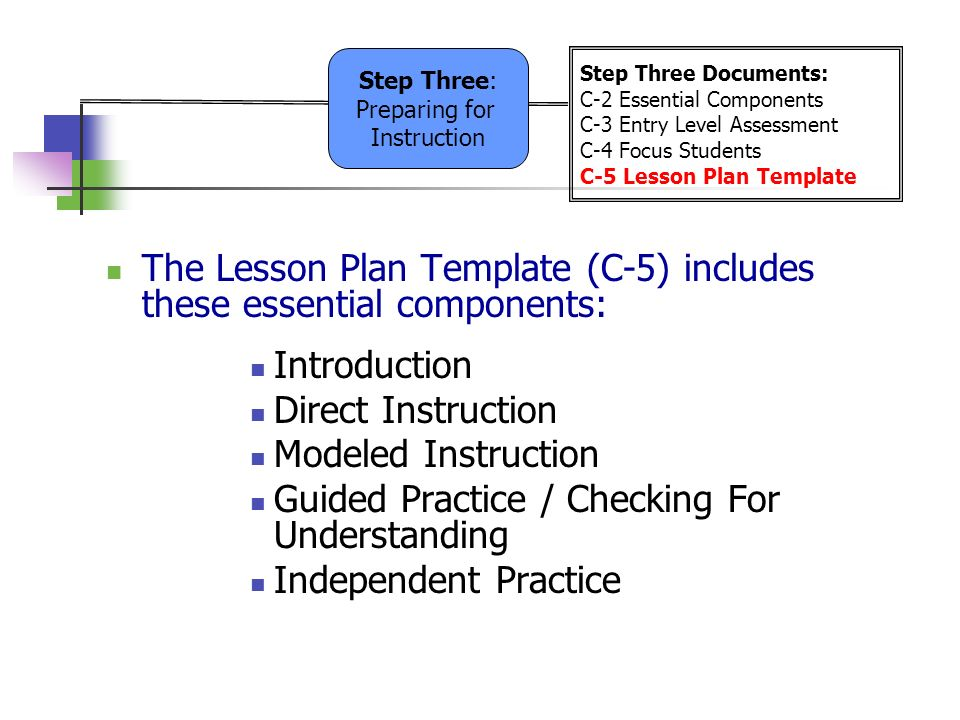 5 Step Lesson Plan Template Studycom Heres What You Need To Know