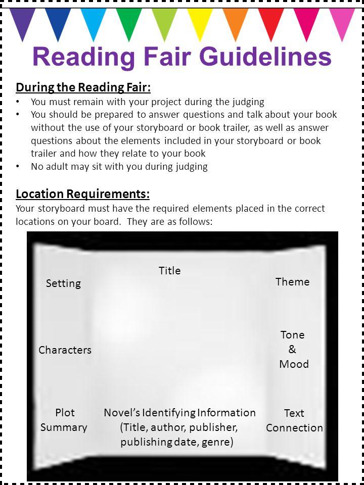 reagan reading fair student information packet