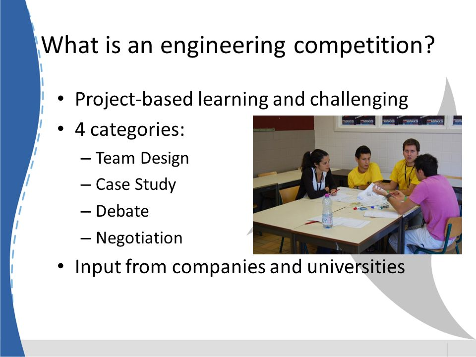 What is an engineering competition