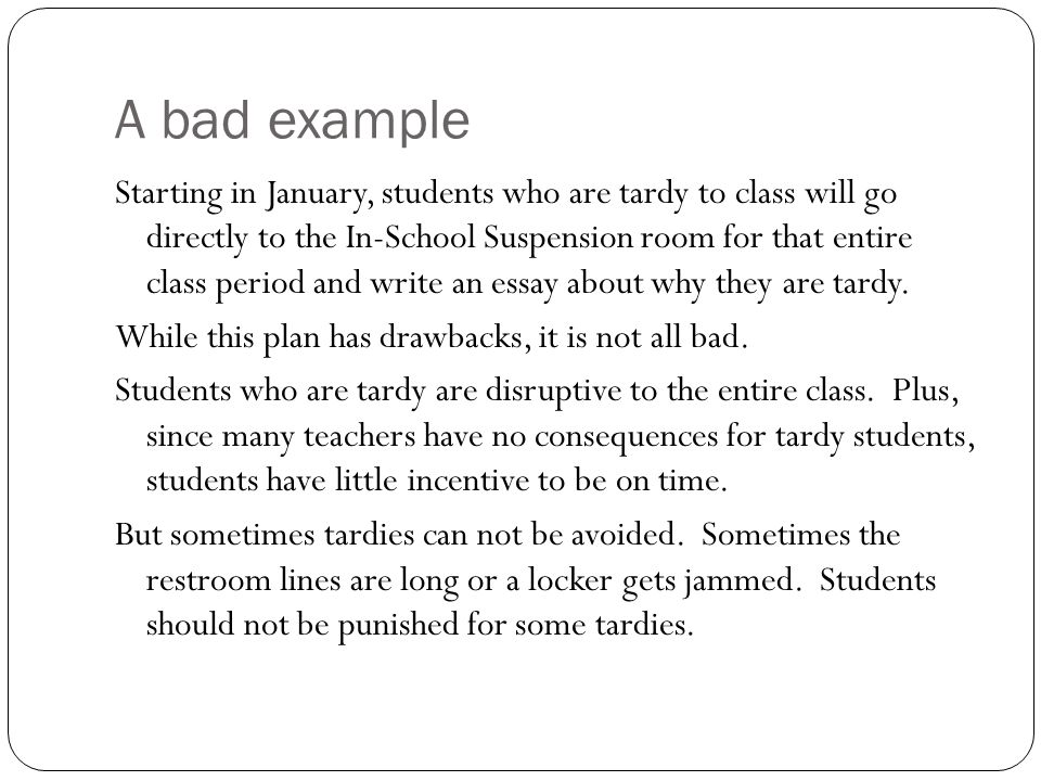 essay about consequences for class Search This Blog