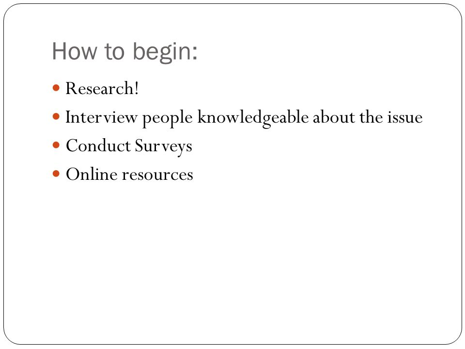 how to begin a research essay