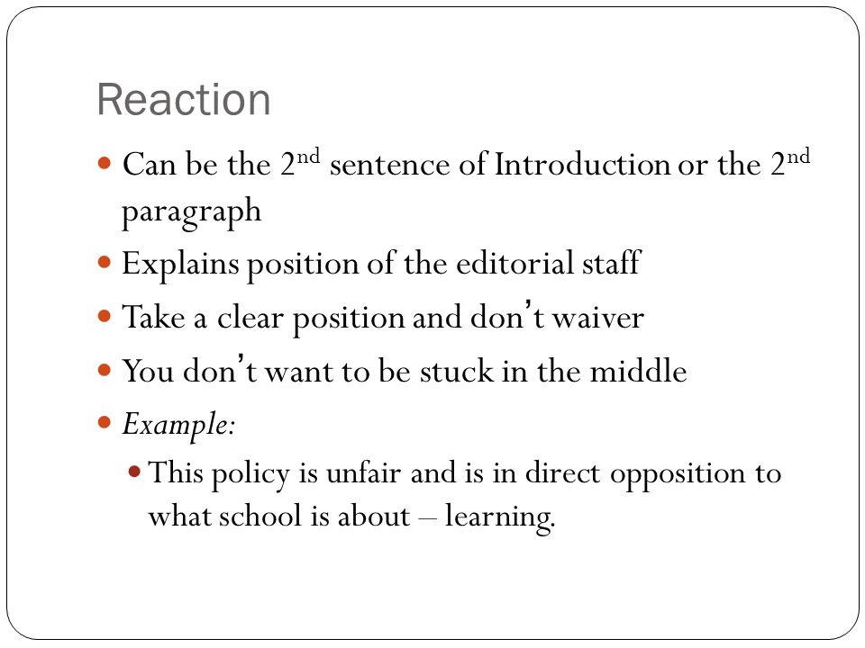 Write my reaction essays examples