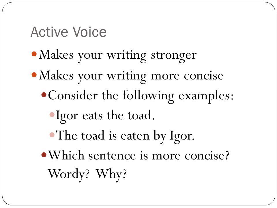 passive voice vs active voice pdf