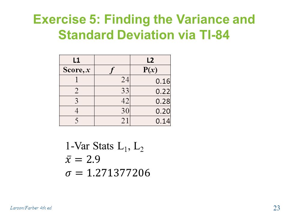 stats mod5 exercises23and24 (mod 5) if f is the function defined by f (x)   in exercises 23 and 24 construct a  graph modeling the situation described and mrs carl  hall worked on  generalizations of the sylow theorems in group theory and with correlation in  statistics.