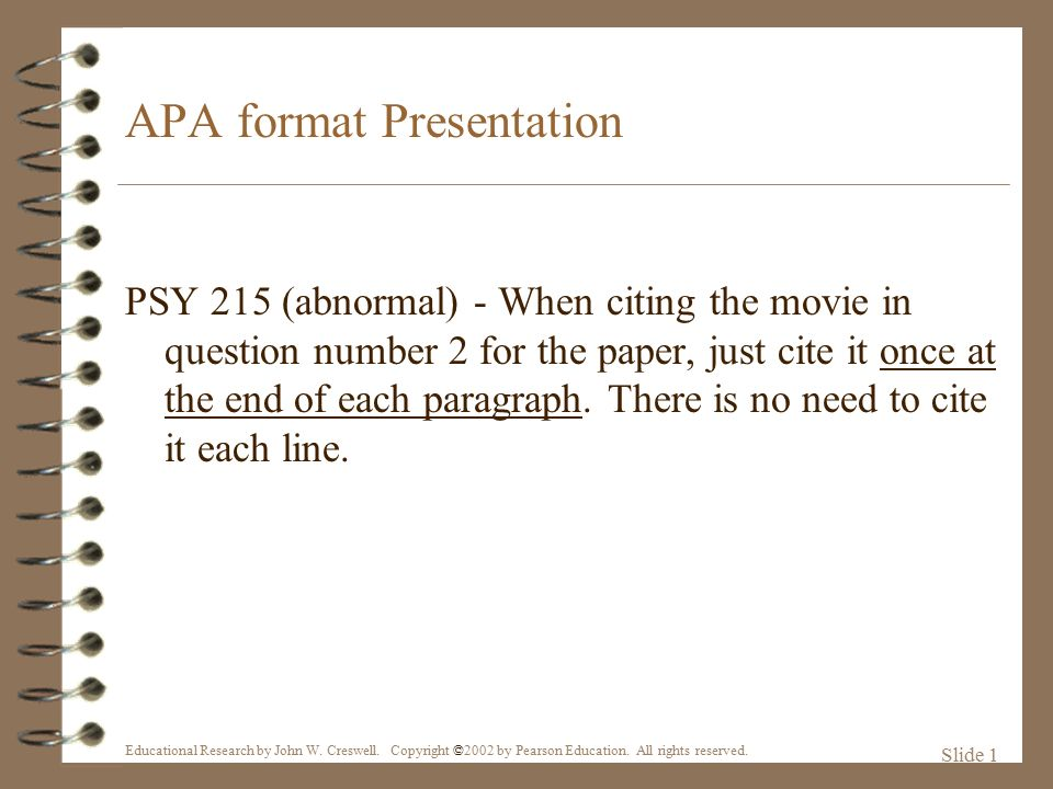 referencing a film in an essay mla I am trying to quote a film (monty python and the holy grail) in an mla format essay, and i am not quite sure how to go about it i have figured out how to cite it (both in the essay and in a works.