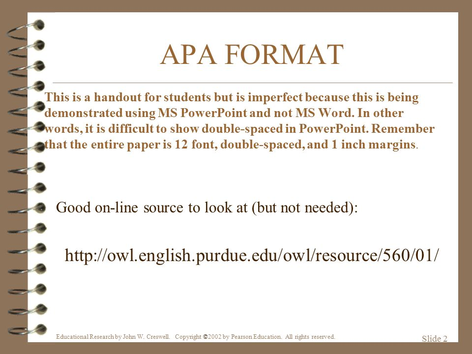apa format for a movie How to cite a movie in apa when writing a research paper, you may find that you want to use a movie as a reference you may be citing to the movie as a whole as an example of a certain way of thinking or type of behavior.
