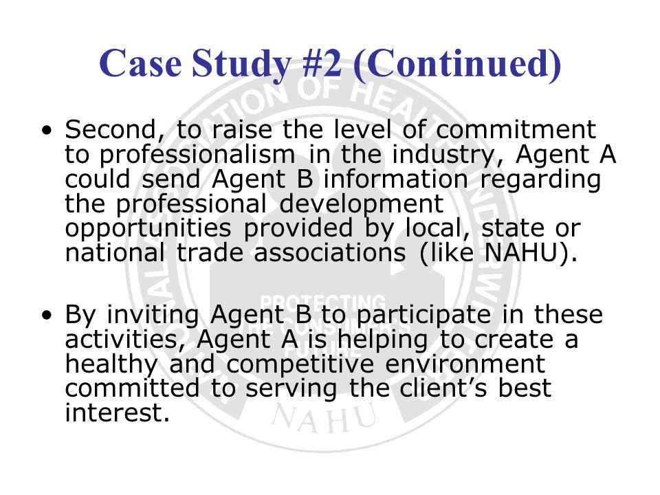 Case Study #2 (Continued)