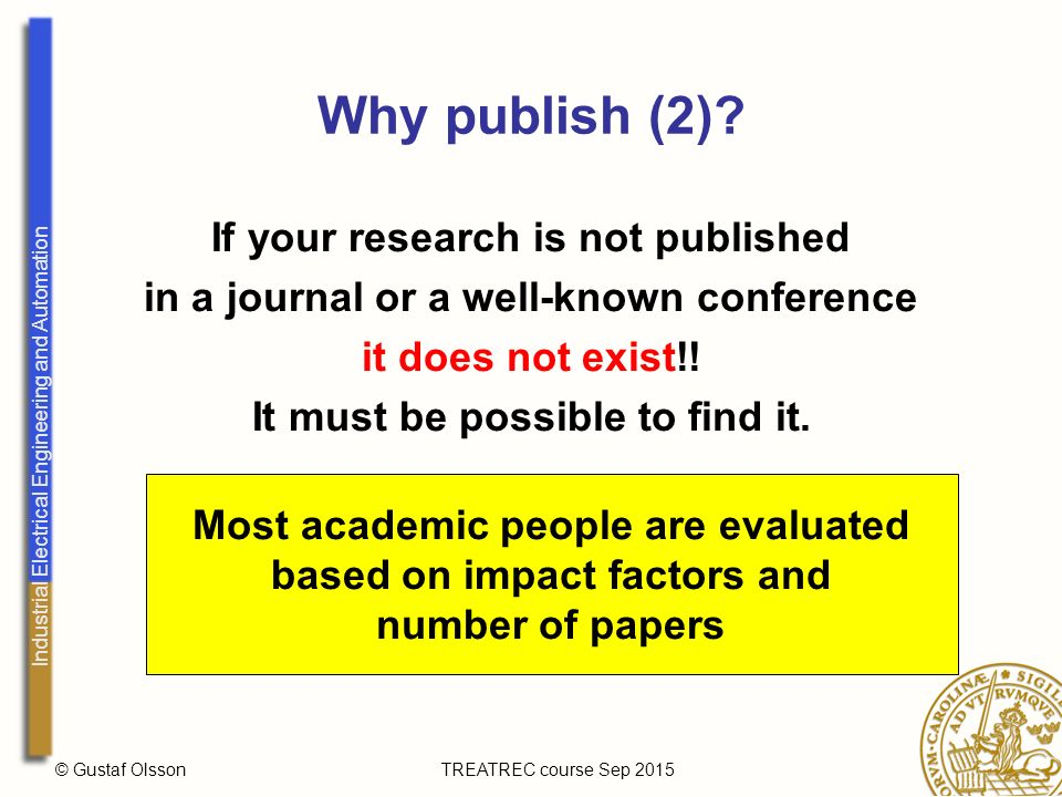 how to publish a research paper