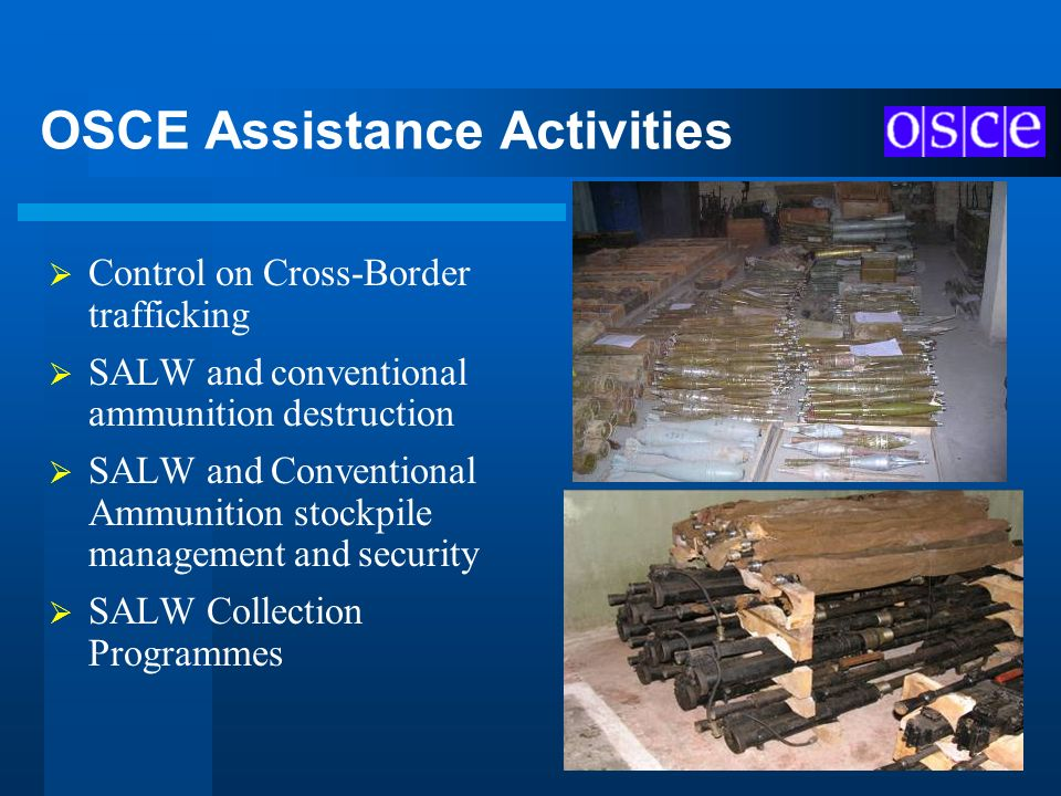 OSCE Assistance Activities