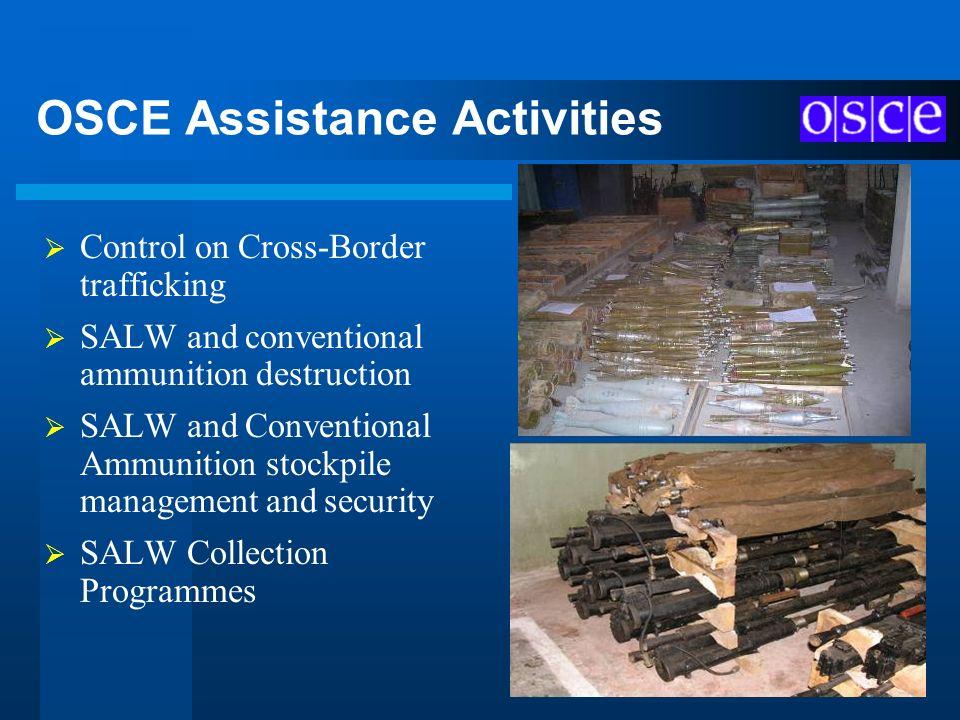 OSCE Assistance Activities