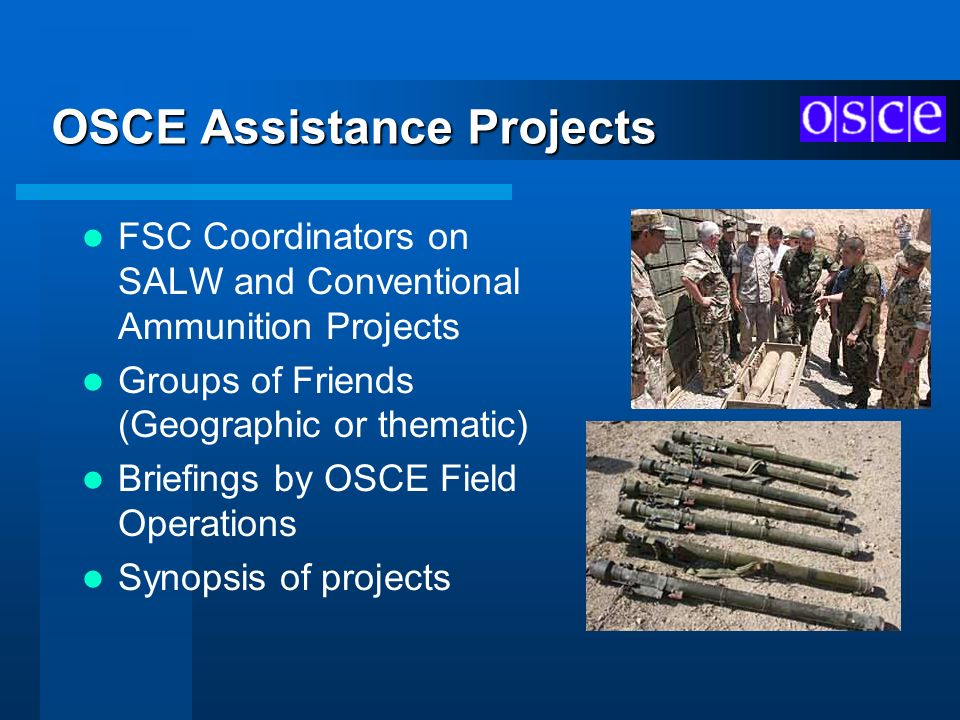 OSCE Assistance Projects