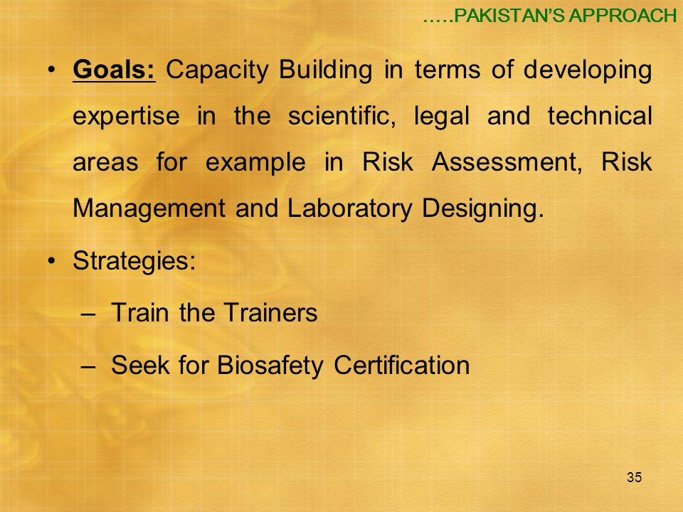 Seek for Biosafety Certification