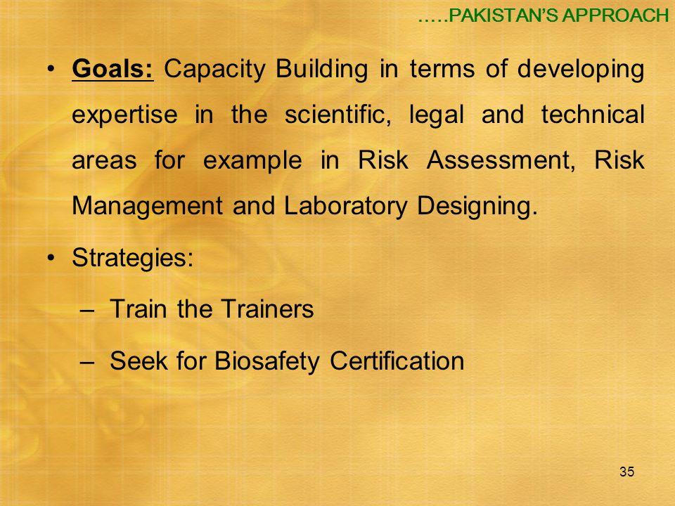 Seek for Biosafety Certification