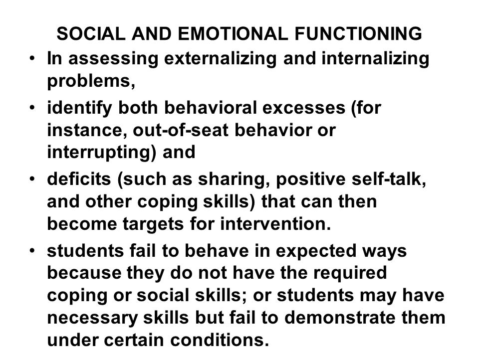 measures of emotional and behavioral fu Fu et al (2011) measured the impact of ethical behavior and facets of job   including measures of ethical behavior, emotional intelli- gence.