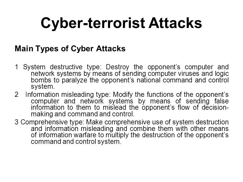 Cyber-terrorist Attacks