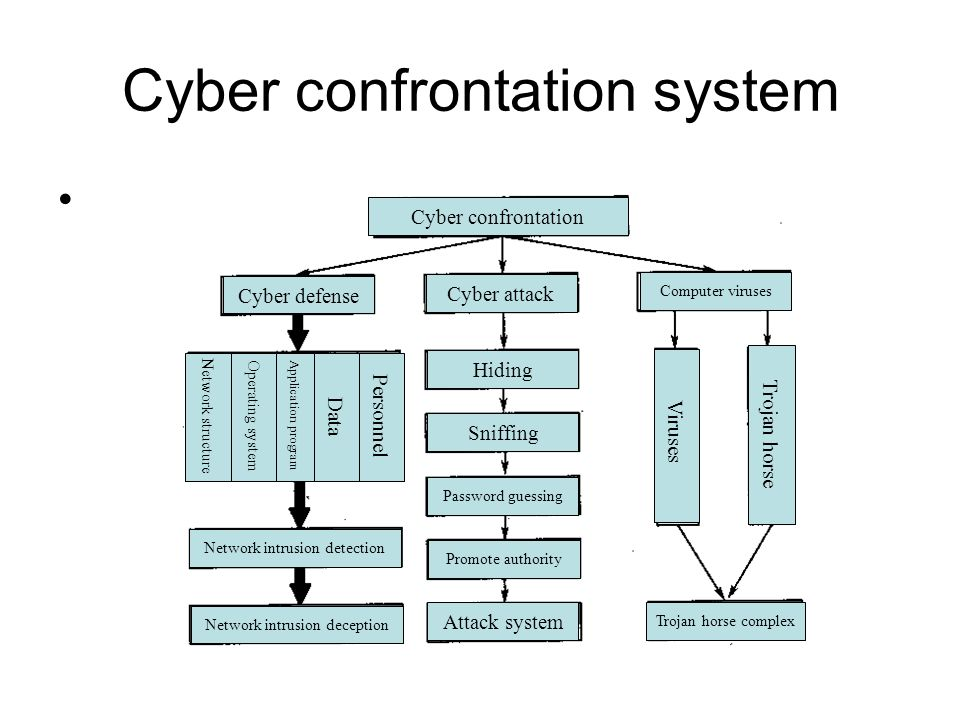 Cyber confrontation system