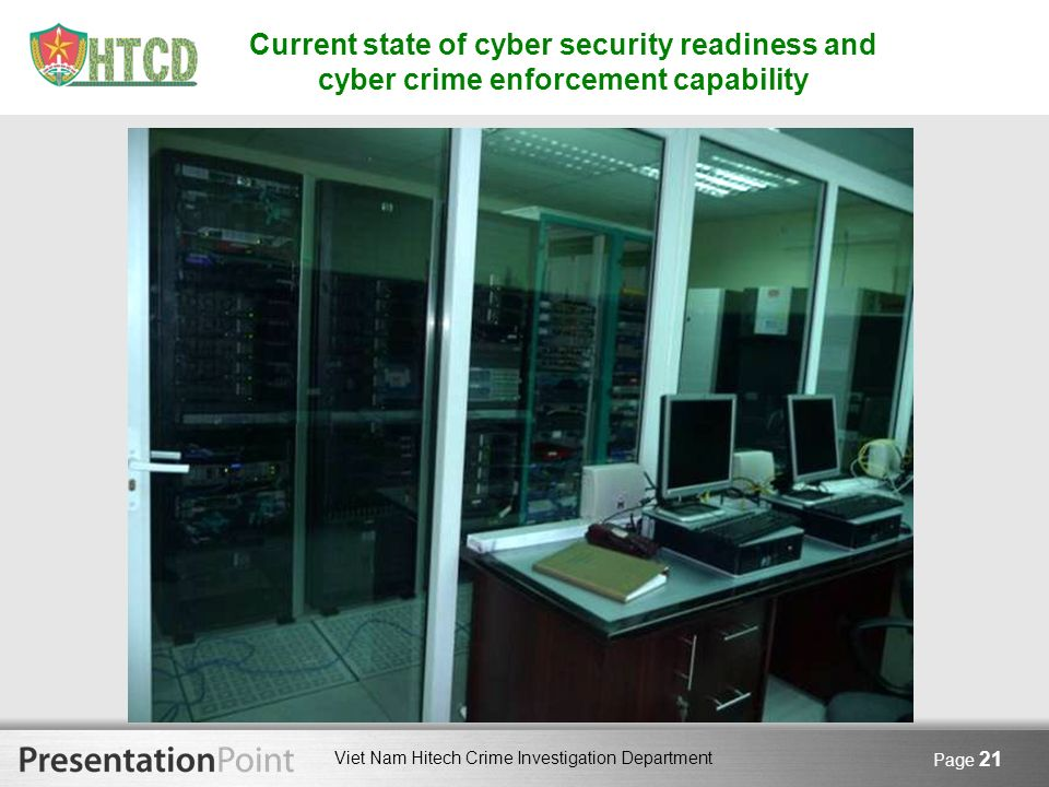 Current state of cyber security readiness and cyber crime enforcement capability