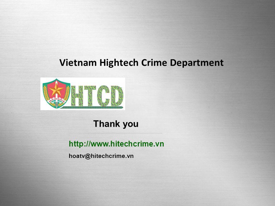 Vietnam Hightech Crime Department