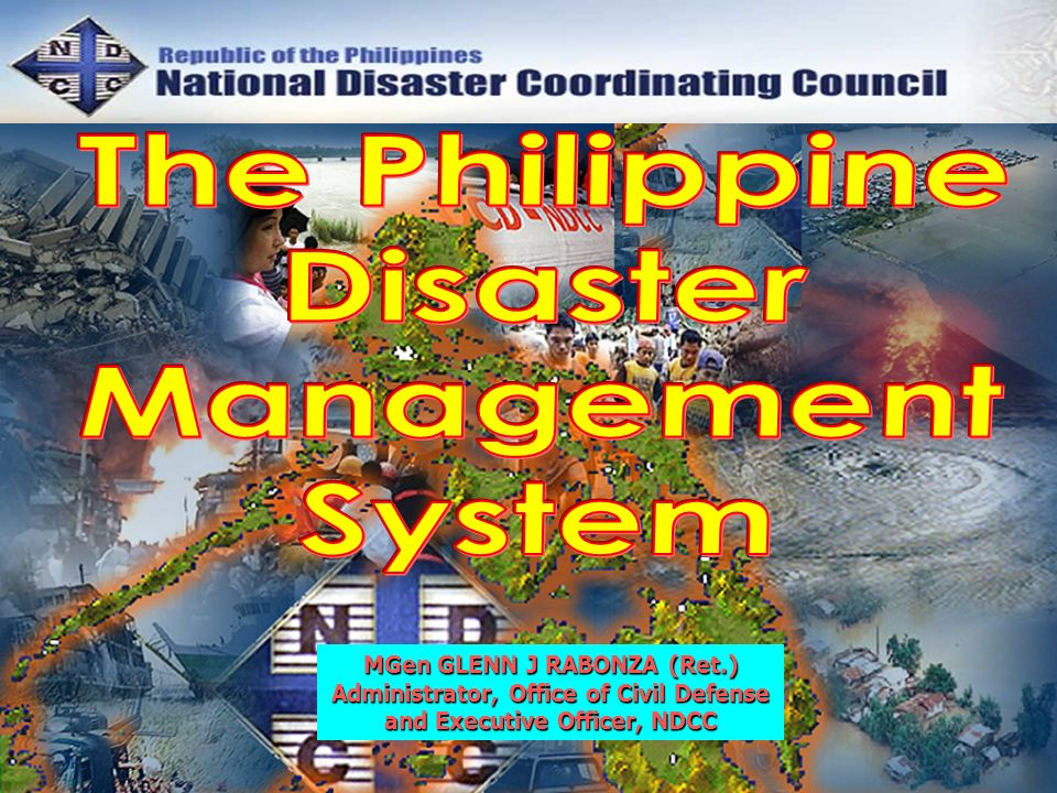 The Philippine Disaster Management System