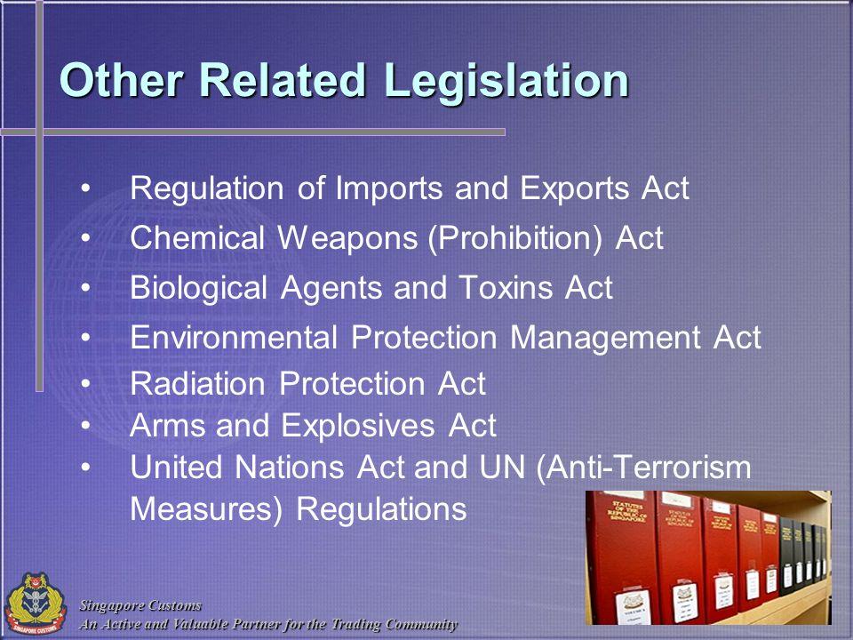Other Related Legislation