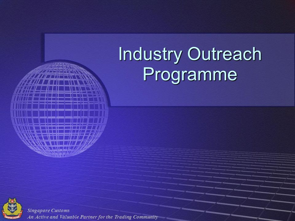 Industry Outreach Programme