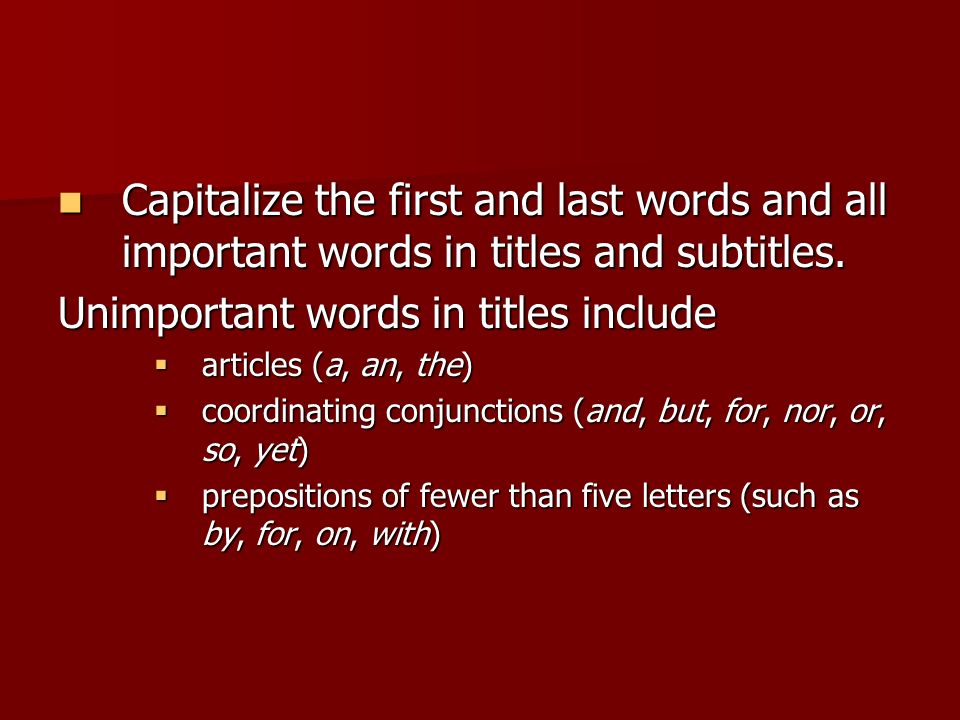 how to capitalize all letters in pdf