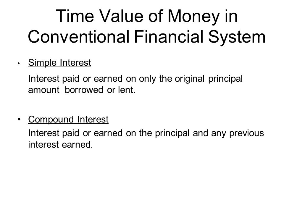time value of money from islamic Islamic finance recognizes time value of money in deferred sale contracts and does not recognize time value of money in lending and rescheduling of debts.