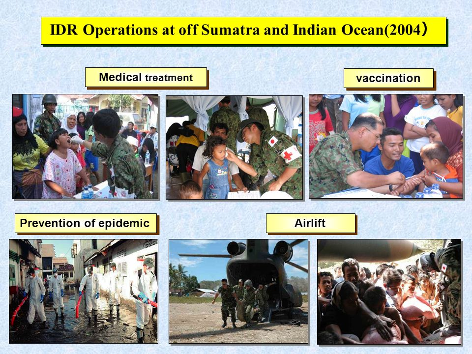 IDR Operations at off Sumatra and Indian Ocean(2004)