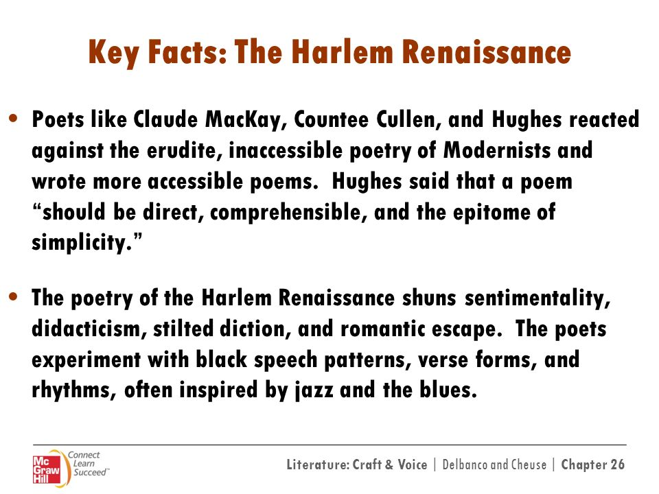 harlem renaissance 5 essay Harlem renaissance poets: essay & poem academic essay harlem renaissance poets essay poems by different authors from the harlem renaissance write an essay.