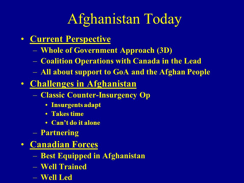 Afghanistan Today Current Perspective Challenges in Afghanistan