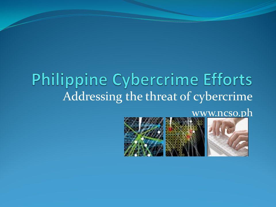 Philippine Cybercrime Efforts