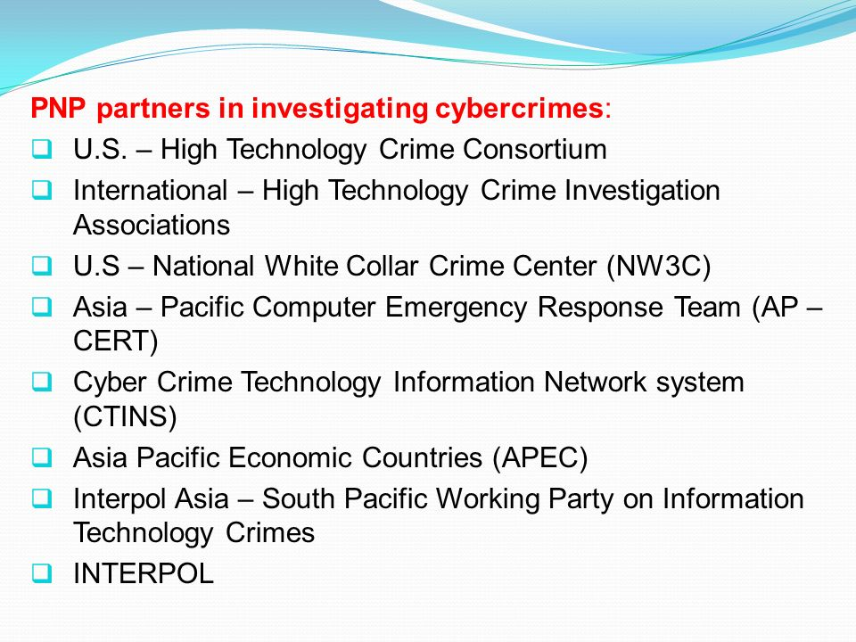 PNP partners in investigating cybercrimes: