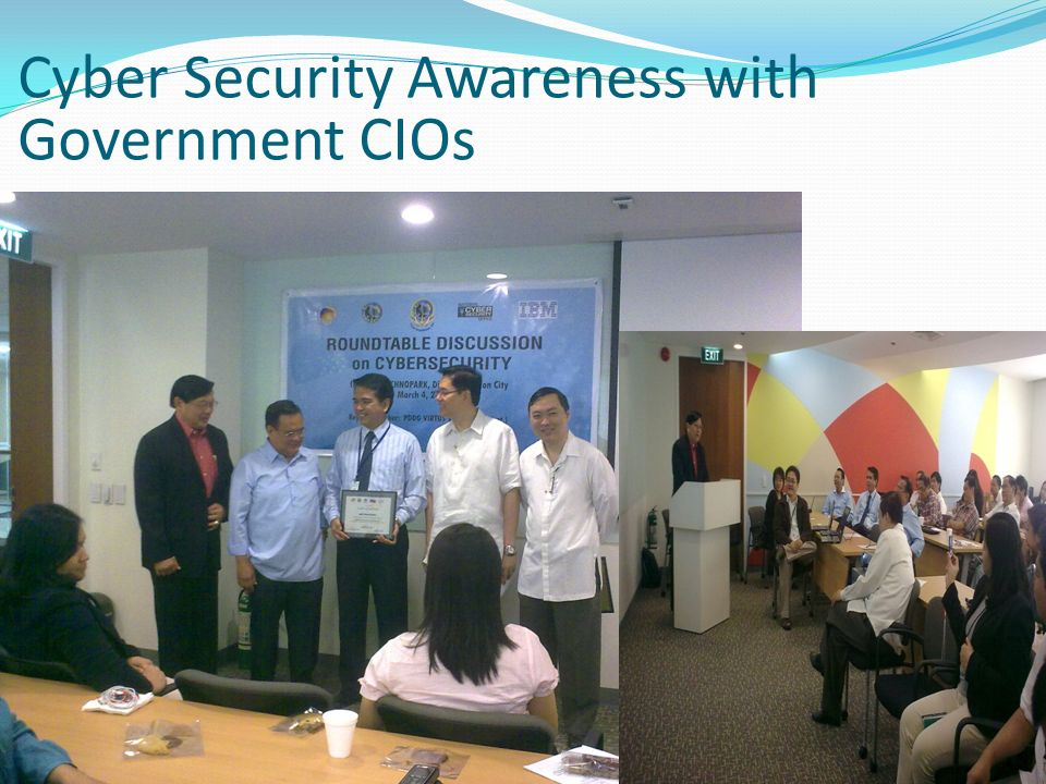 Cyber Security Awareness with Government CIOs