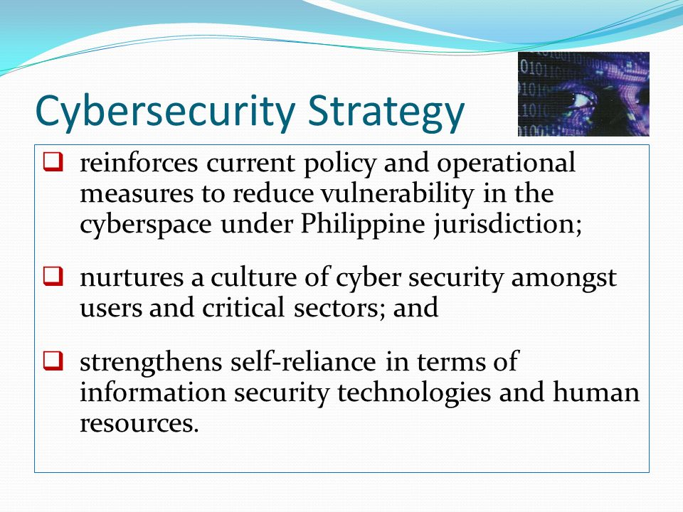 Cybersecurity Strategy