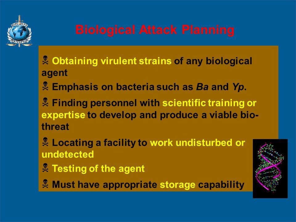 Biological Attack Planning