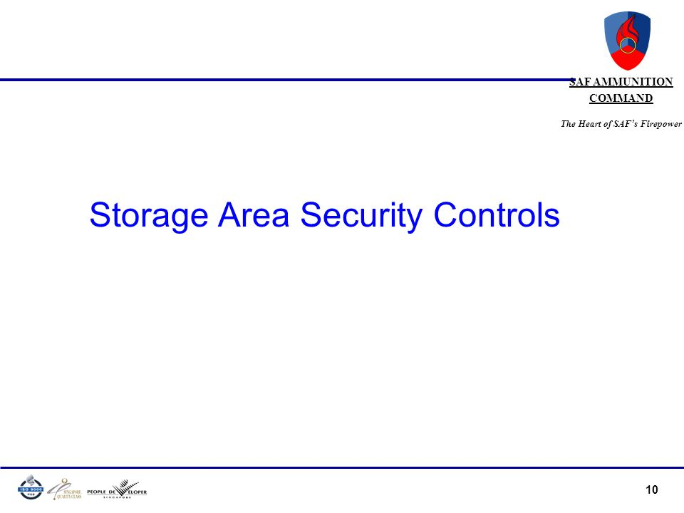 Storage Area Security Controls