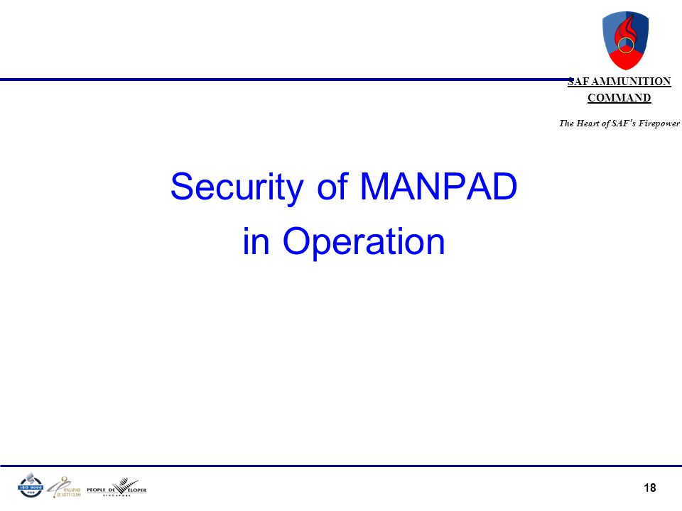 Security of MANPAD in Operation