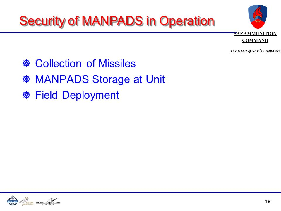 Security of MANPADS in Operation
