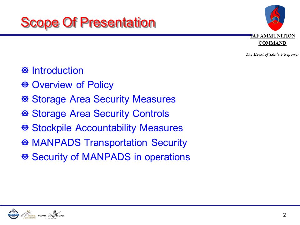 Scope Of Presentation Introduction Overview of Policy