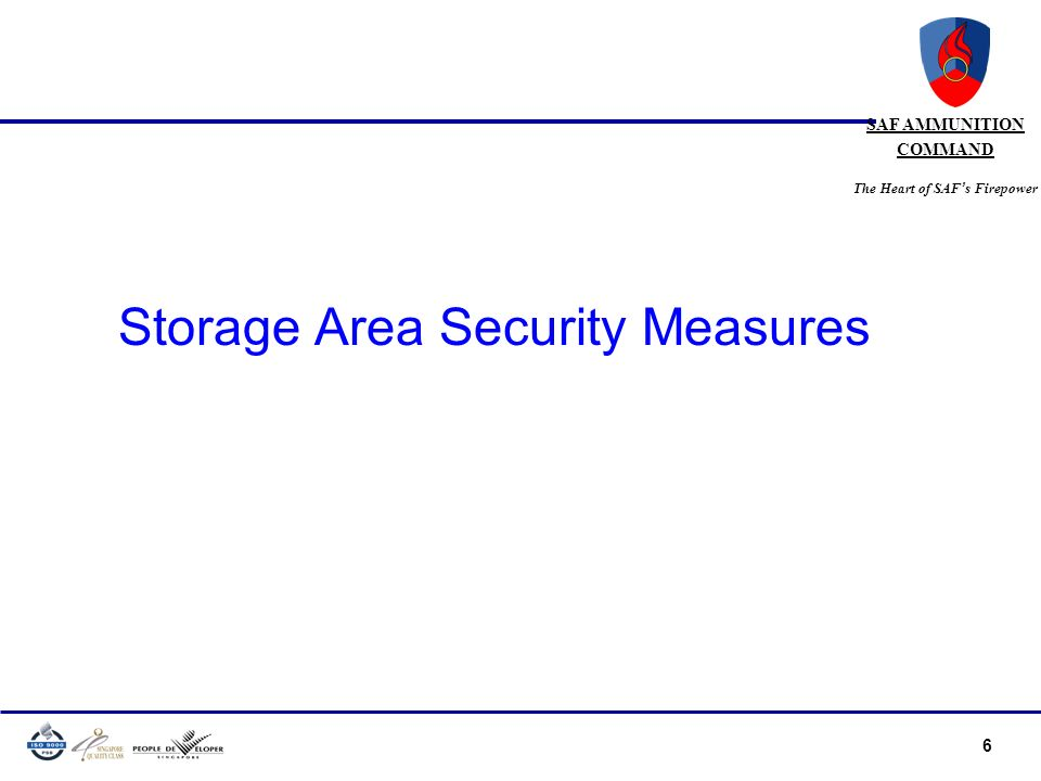 Storage Area Security Measures