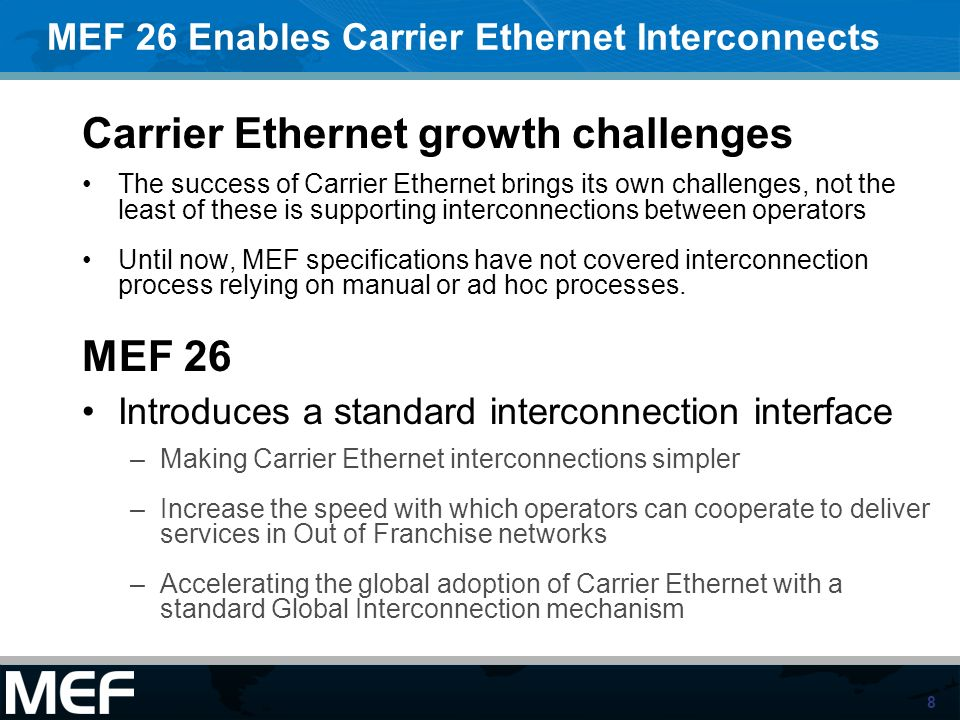 Carrier Ethernet growth challenges